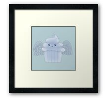 Angel food cupcake Framed Print