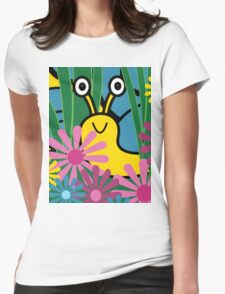 Boo! Snail Womens Fitted T-Shirt
