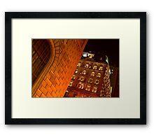 Building Of Gold Framed Print