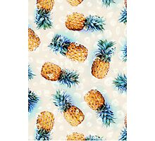 Pineapples + Crystals Photographic Print