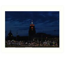 Great View at the Ball Game Art Print