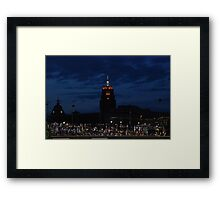 Great View at the Ball Game Framed Print
