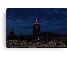 Great View at the Ball Game Canvas Print