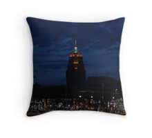 Great View at the Ball Game Throw Pillow