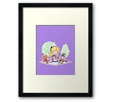 Very Merry Unbirthday Framed Print