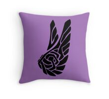 Knotted Flight Throw Pillow