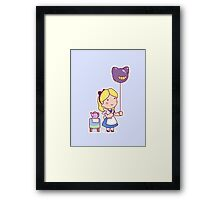 Little Alice Framed Print