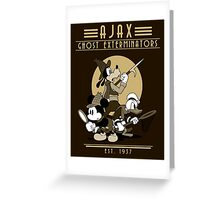 Ghost Hunters Greeting Card