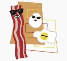 Cool Bacon and Eggs  Kids Clothes