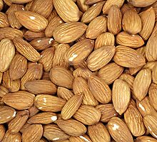 Almond Nuts by CPAULFELL