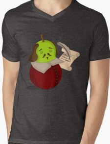 Shakes-pear Mens V-Neck T-Shirt