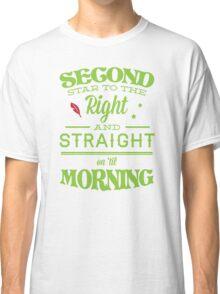 Peter Pan Neverland  - Second Star Classic T-Shirt