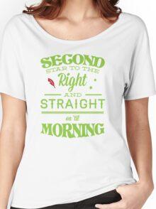 Peter Pan Neverland  - Second Star Women's Relaxed Fit T-Shirt