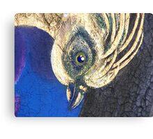 The Golden Bird (head detail) Canvas Print