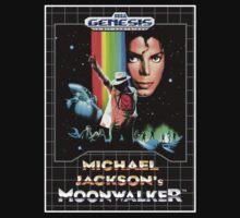 Moonwalker Genesis Megadrive Sega Box cover by ruter