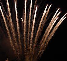Big Fireworks by Vonnie Murfin