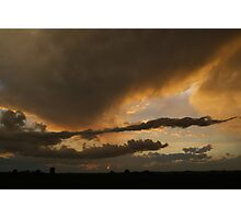 Sunset on the Summer Solstice Photographic Print