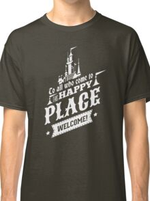 Magic Kingdom - Walt's Happy Place Classic T-Shirt