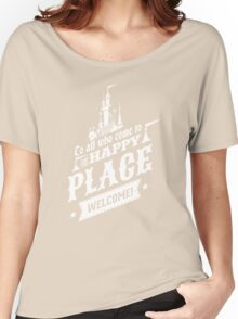Magic Kingdom - Walt's Happy Place Women's Relaxed Fit T-Shirt