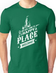 Magic Kingdom - Walt's Happy Place Unisex T-Shirt