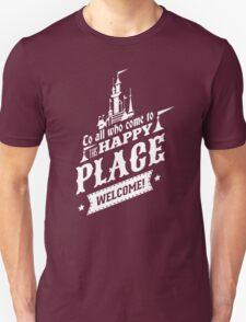 Magic Kingdom - Walt's Happy Place Unisex T-Shirt