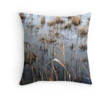 Greenfields Wetlands Throw Pillow