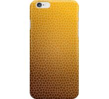 Orange Abstract Glass Pattern iPhone Case/Skin