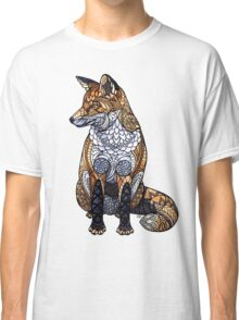 Stained Glass Fox Classic T-Shirt