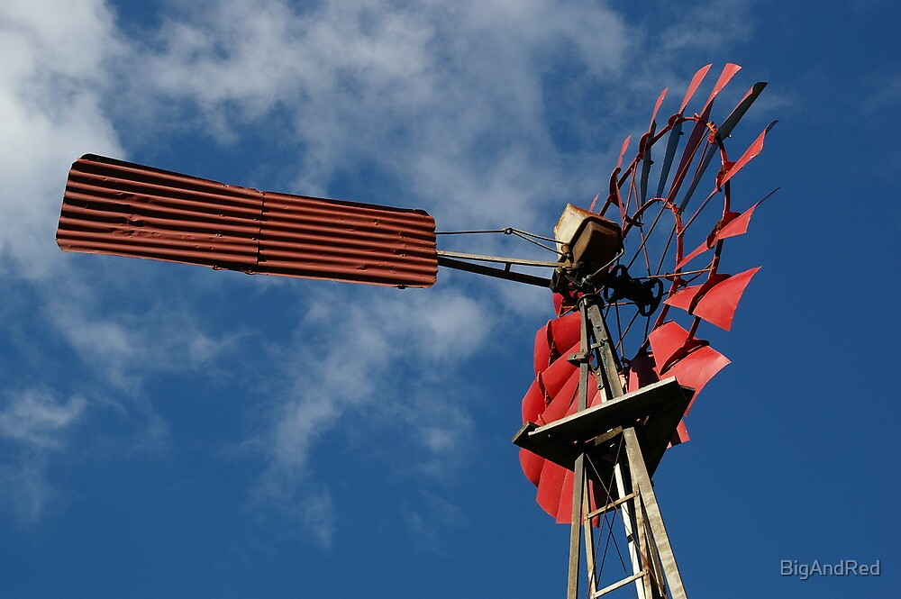 Nannup Australia  City pictures : Old Red Windmill', Nannup, Western Australia