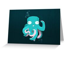 Kraken Greeting Card