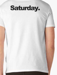 Saturday. Mens V-Neck T-Shirt