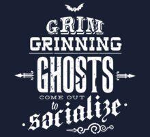 Haunted Mansion - Grim Grinning Ghosts One Piece - Short Sleeve
