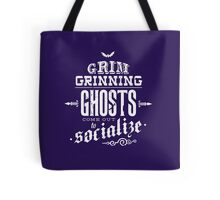 Haunted Mansion - Grim Grinning Ghosts Tote Bag