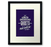 Haunted Mansion - Grim Grinning Ghosts Framed Print
