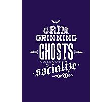 Haunted Mansion - Grim Grinning Ghosts Photographic Print