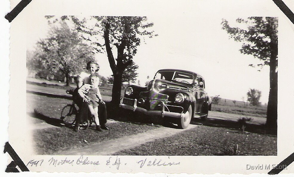 My New Mother Vivian Olene Scott 1946 by David M Scott