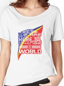 Captain EO - Change the World Women's Relaxed Fit T-Shirt