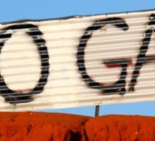 No Gas @ James Price Point Sticker