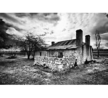 Cottage in the Vineyard Photographic Print