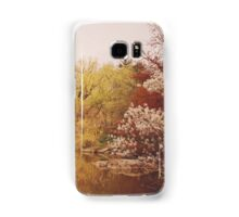Beautiful Springtime Landscape - Central Park - New York City Samsung Galaxy Case/Skin