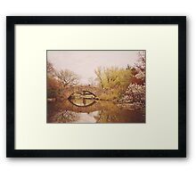 Beautiful Springtime Landscape - Central Park - New York City Framed Print