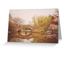 Beautiful Springtime Landscape - Central Park - New York City Greeting Card