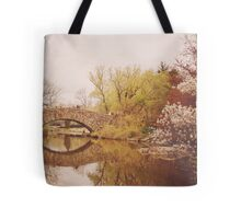 Beautiful Springtime Landscape - Central Park - New York City Tote Bag