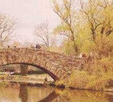 Beautiful Springtime Landscape - Central Park - New York City Sticker