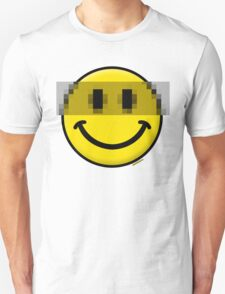 Pixelated Smiley Face T-Shirt