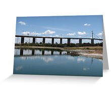 The Westgate Bridge Greeting Card