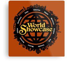 EPCOT World Showcase Metal Print