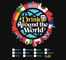 Drink Around the World - EPCOT Checklist v1 T-Shirt