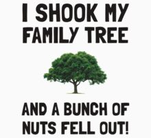 Family Tree Nuts Kids Clothes