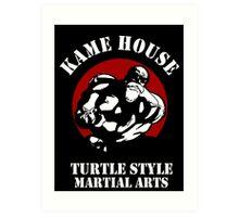 Kame House Training Shirt Art Print